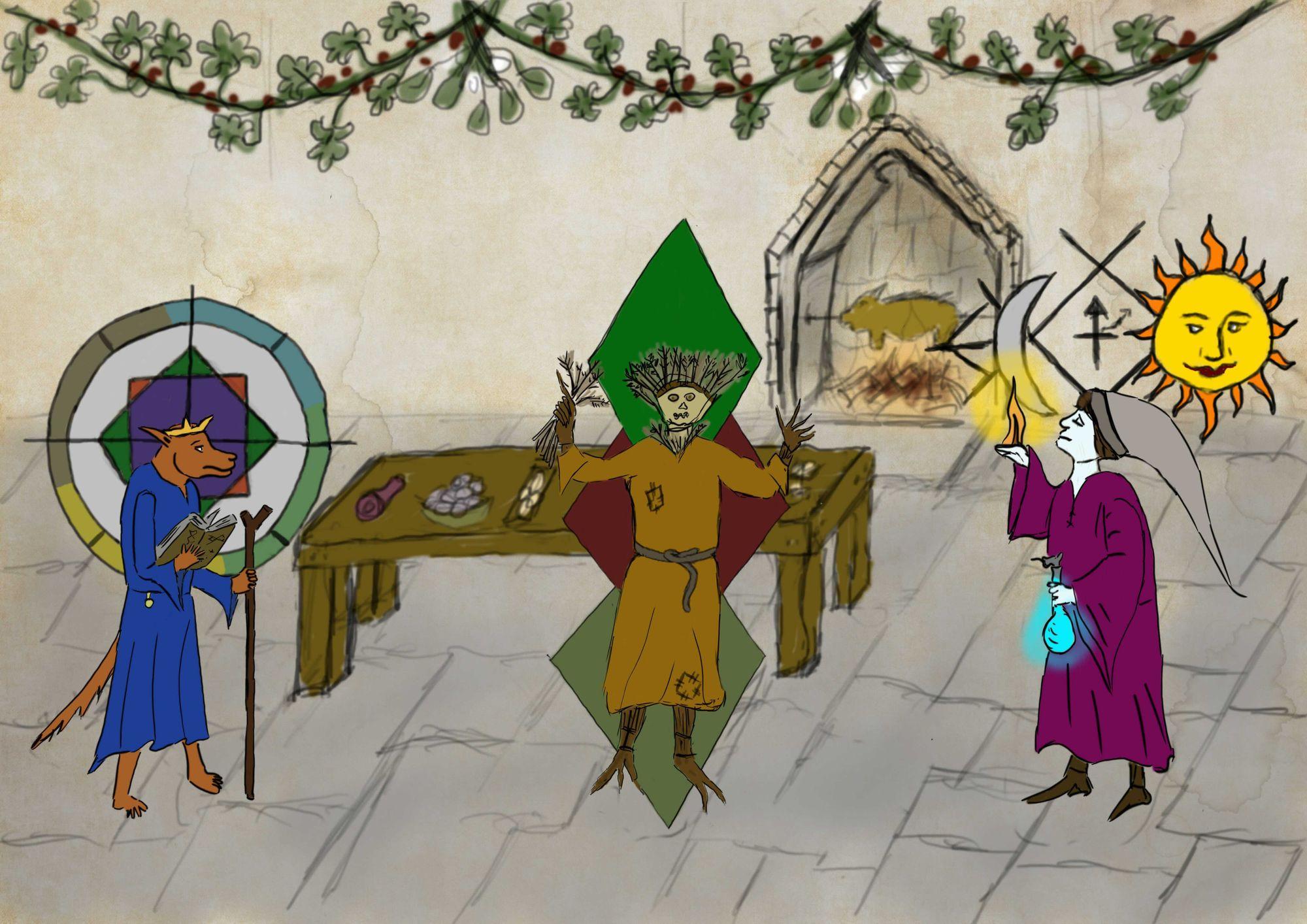 The Wyrd Magi