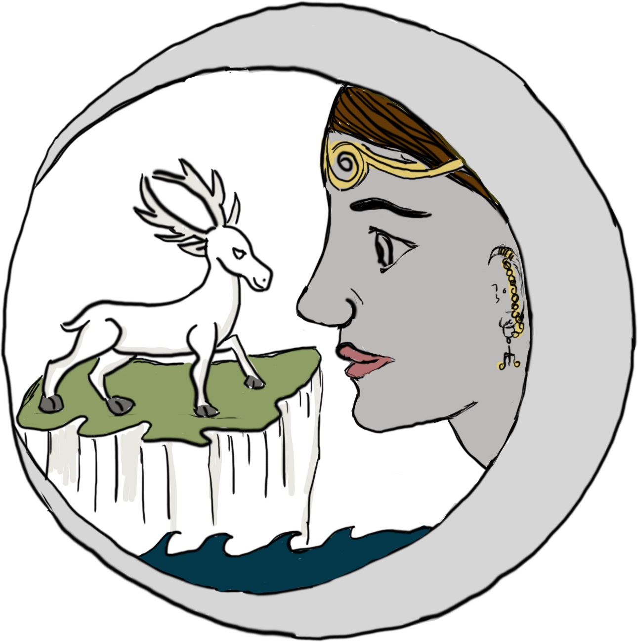 The Stag (Hart) Moon (July Full Moon)